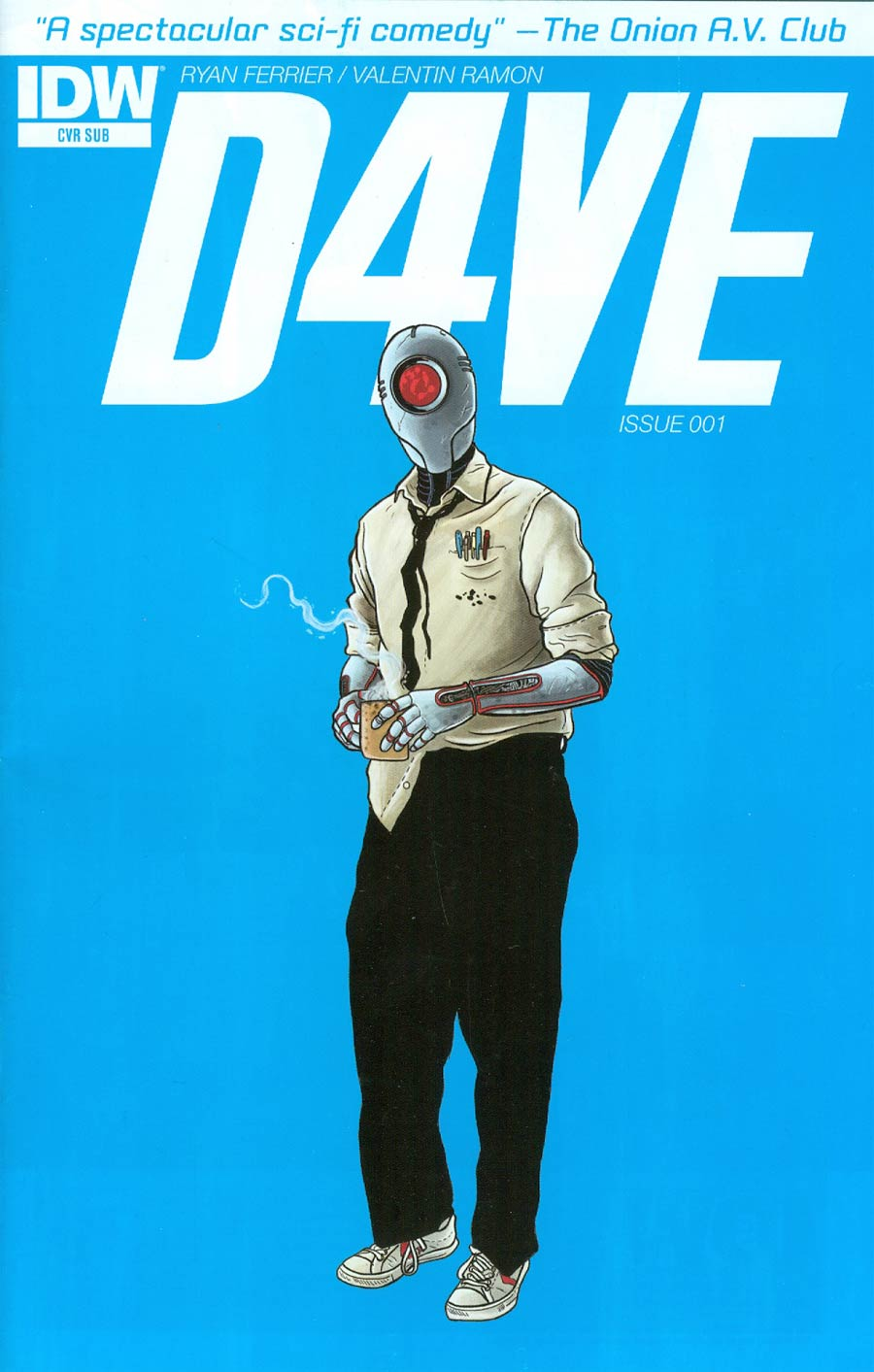 D4VE #1 Cover B Variant Valentin Ramon Subscription Cover