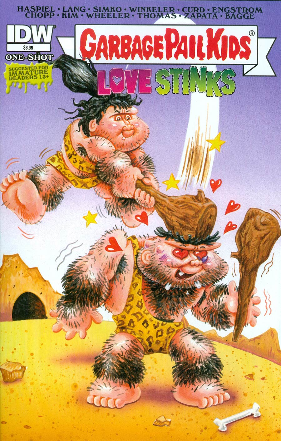 Garbage Pail Kids Love Stinks One Shot Cover A Regular Mark Pingitore Cover