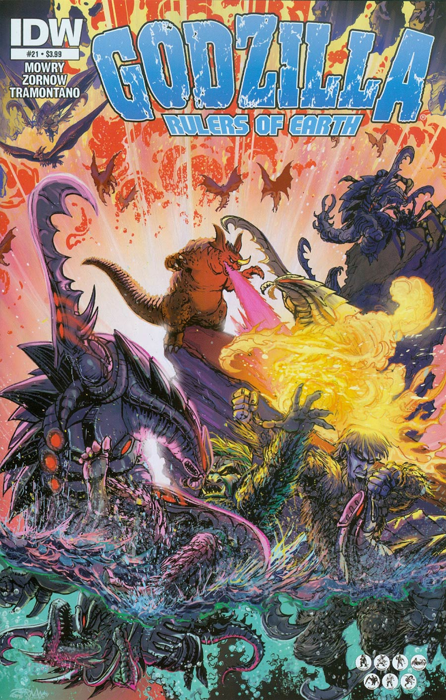 Godzilla Rulers Of The Earth #21 Cover A Regular Jeff Zornow Cover