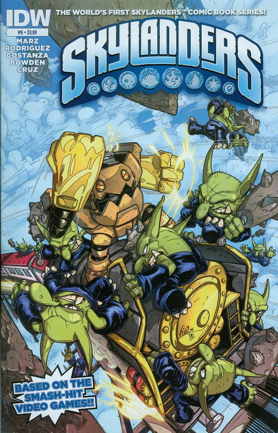 Skylanders #6 Cover A Regular Fico Ossio Cover