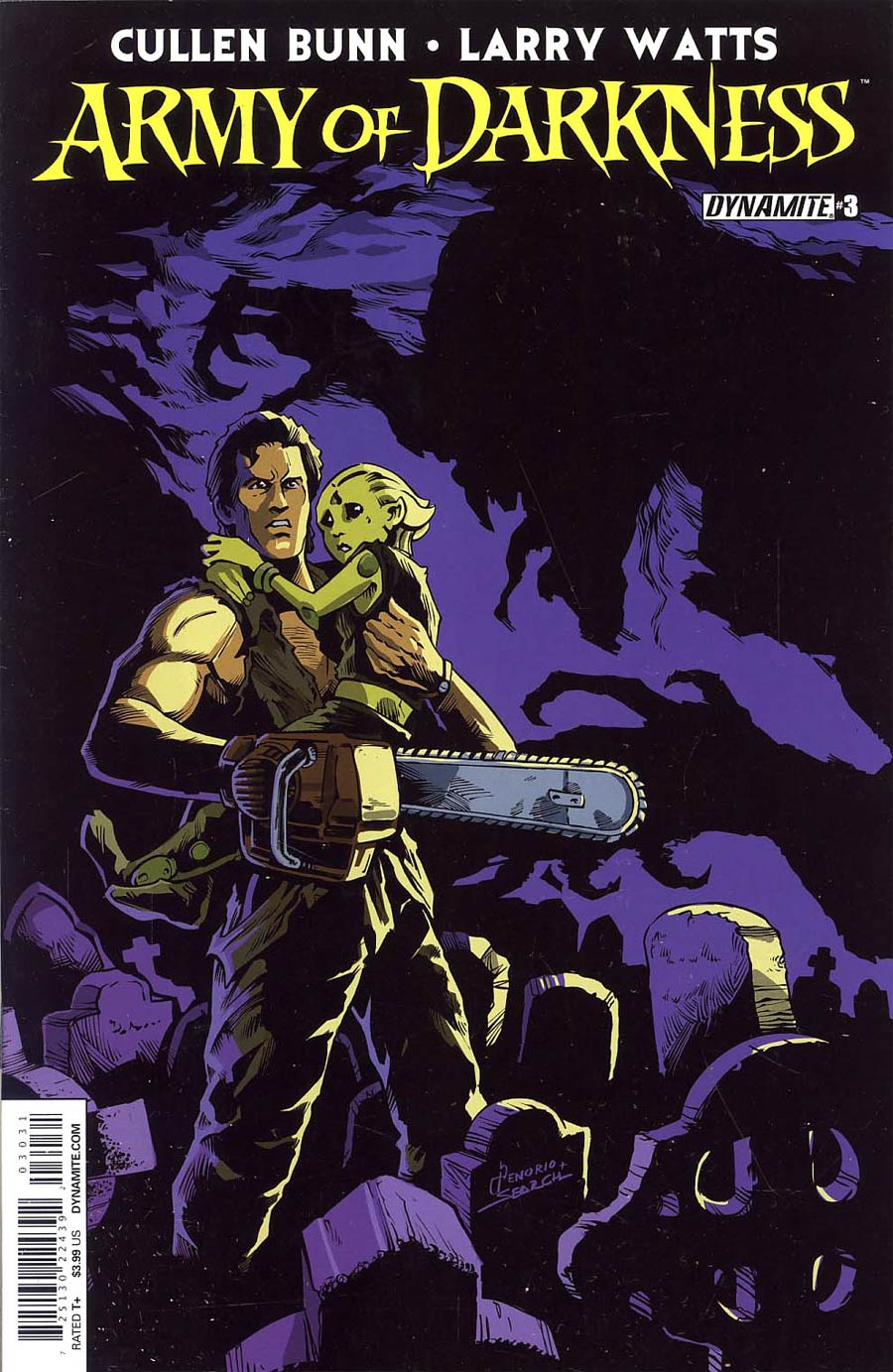 Army Of Darkness Vol 4 #3 Cover C Variant Nacho Tenorio Subscription Cover