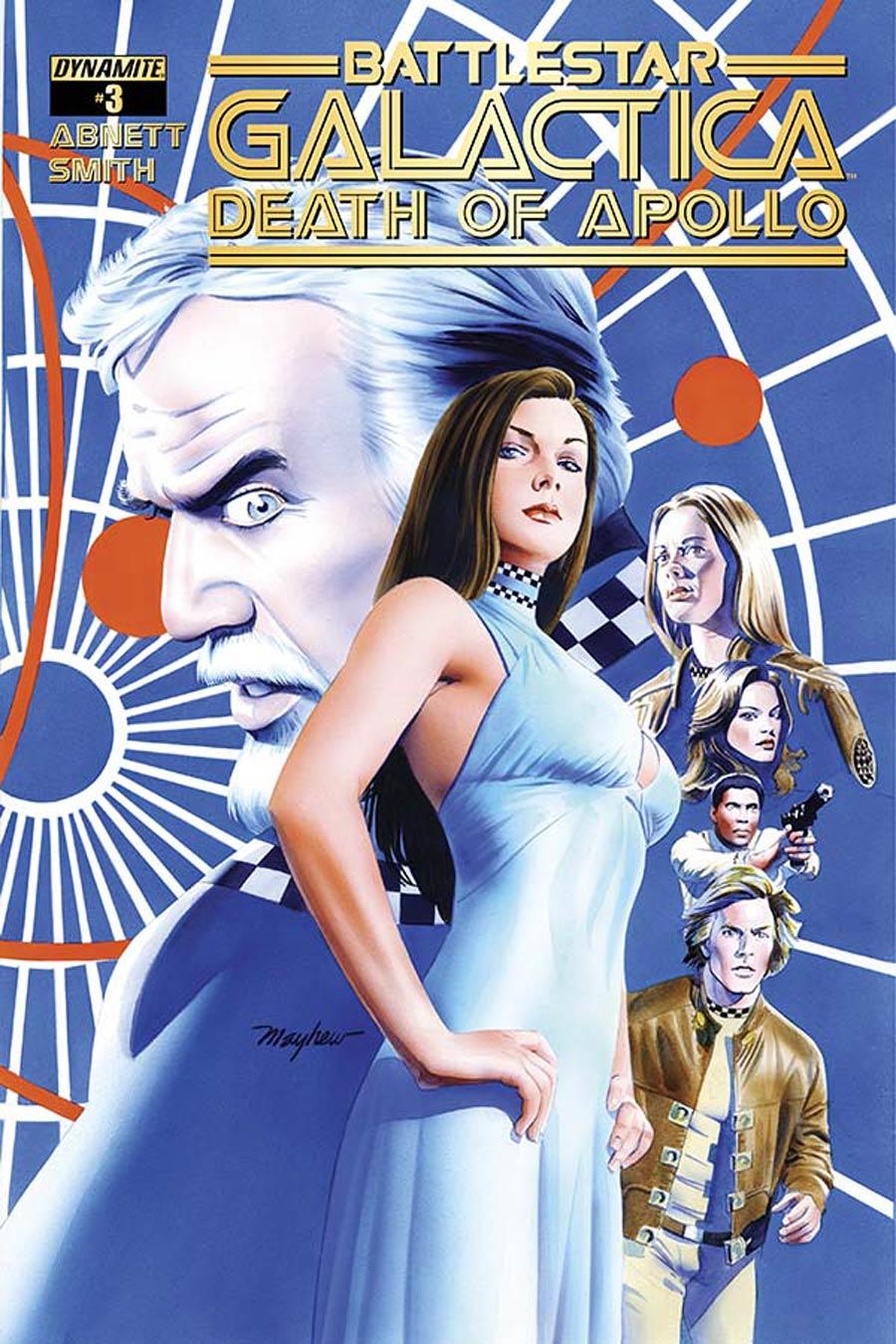 Battlestar Galactica Death Of Apollo #3 Cover A Regular Mike Mayhew Cover