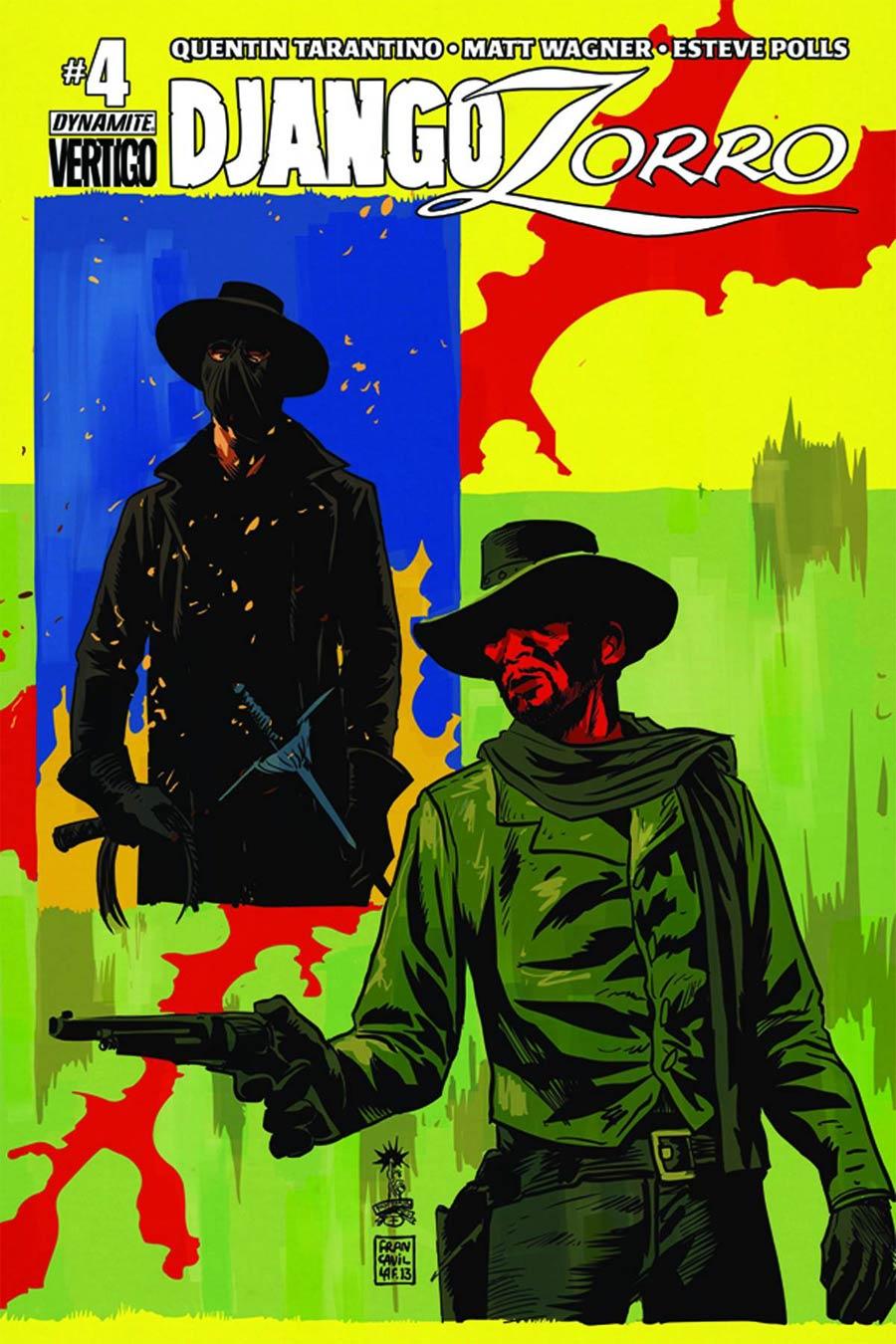 Django Zorro #4 Cover B Variant Francesco Francavilla Cover