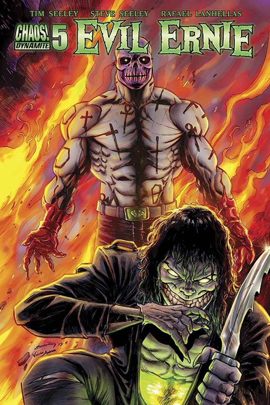 Evil Ernie Vol 4 #5 Cover A Regular Tim Seeley Cover