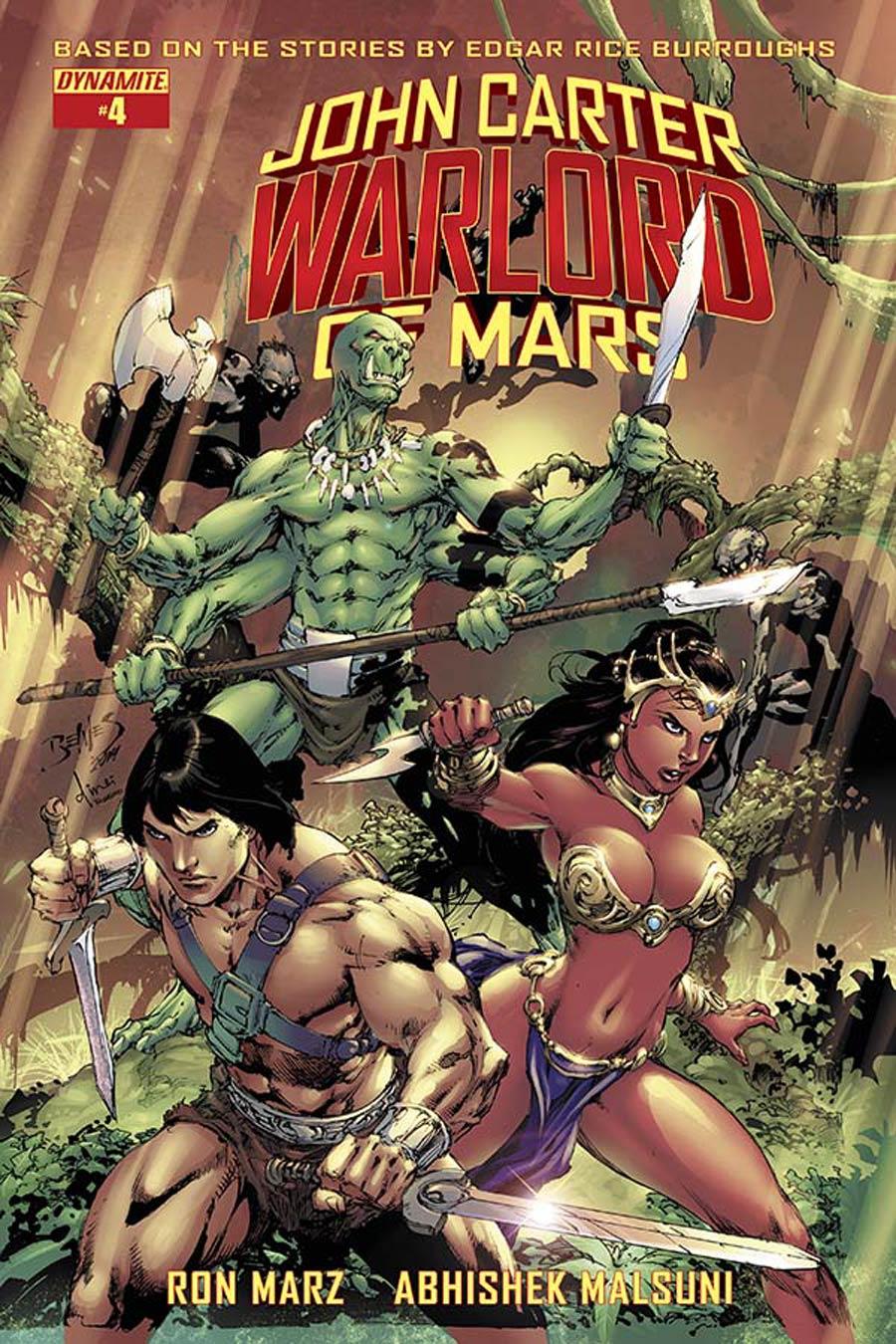 John Carter Warlord Of Mars Vol 2 #4 Cover A Regular Ed Benes Cover