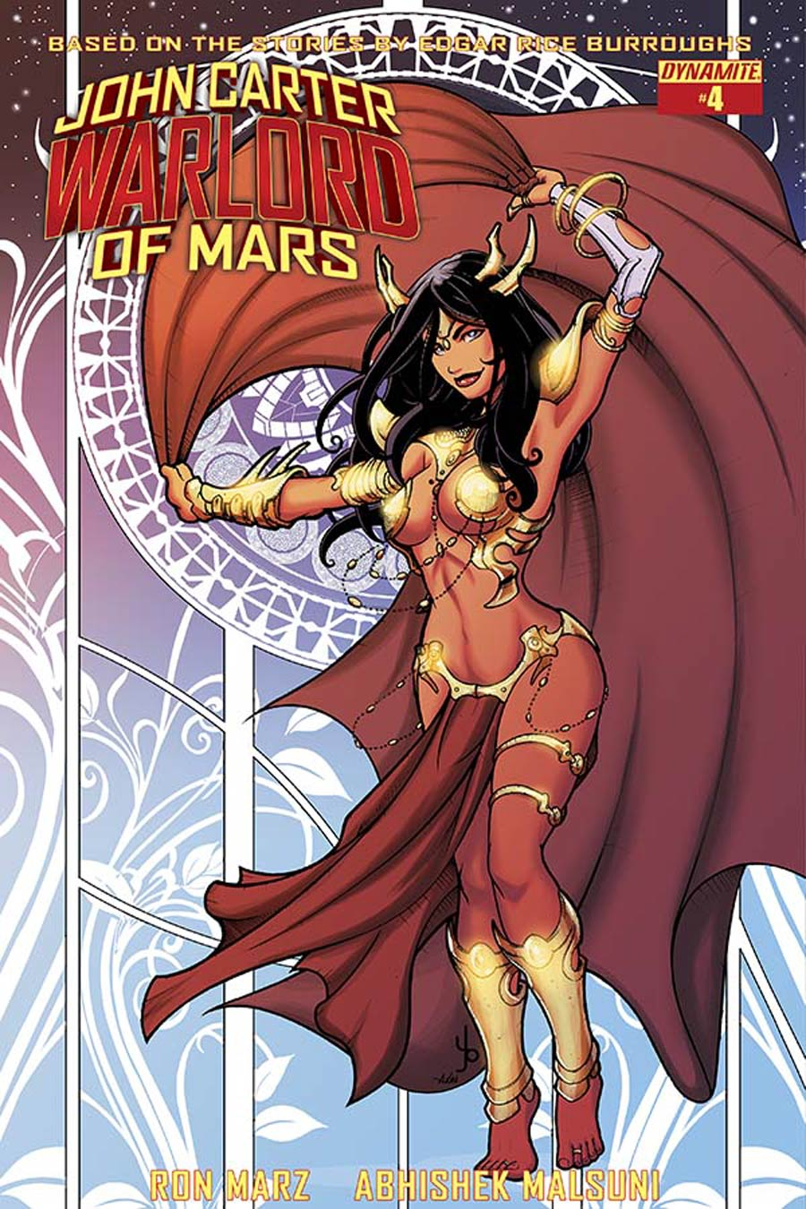 John Carter Warlord Of Mars Vol 2 #4 Cover D Variant Yonami Subscription Cover