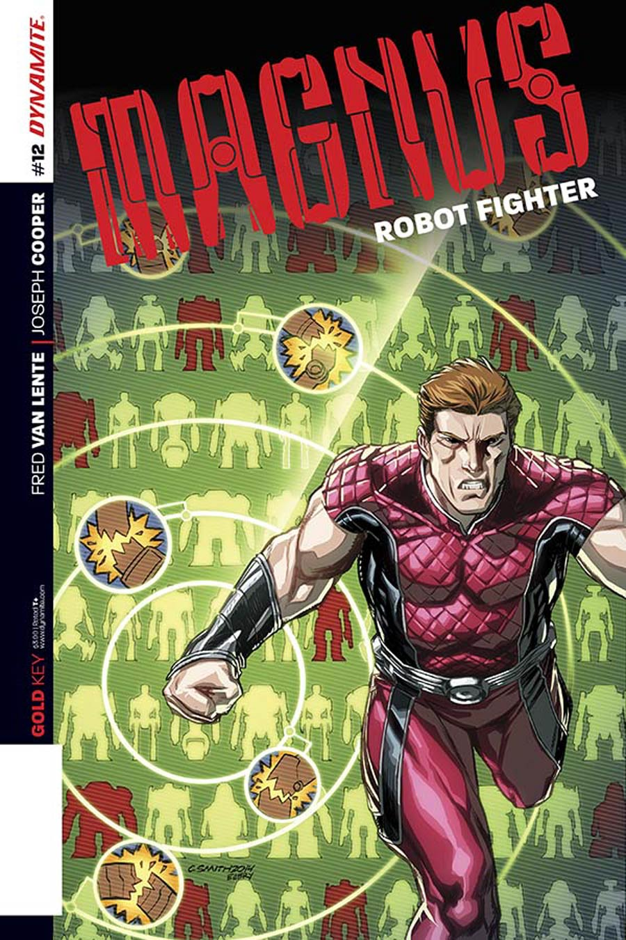 Magnus Robot Fighter Vol 4 #12 Cover B Variant Cory Smith Subscription Cover