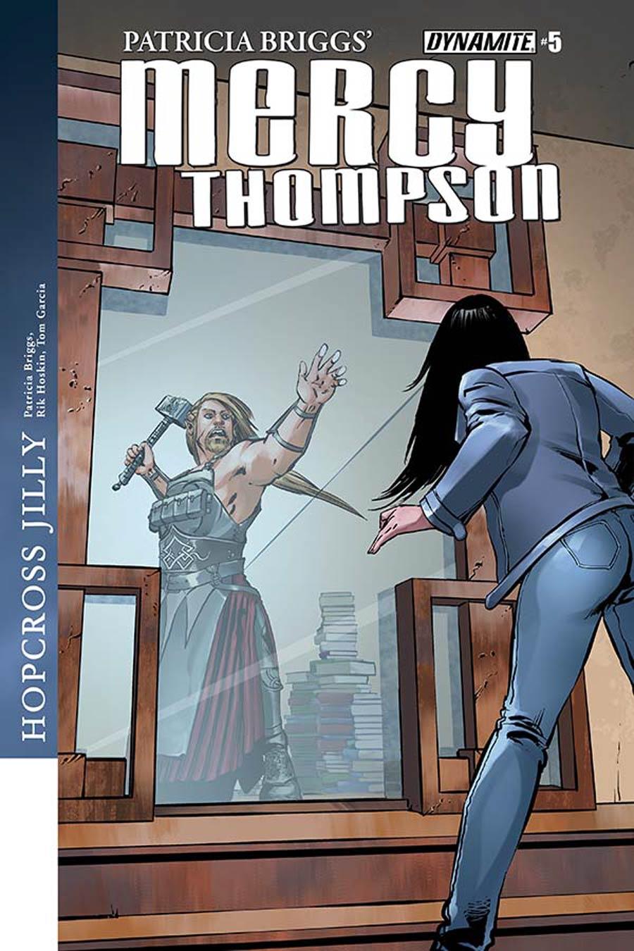 Patricia Briggs Mercy Thompson #5 Cover A Regular Tom Garcia Cover