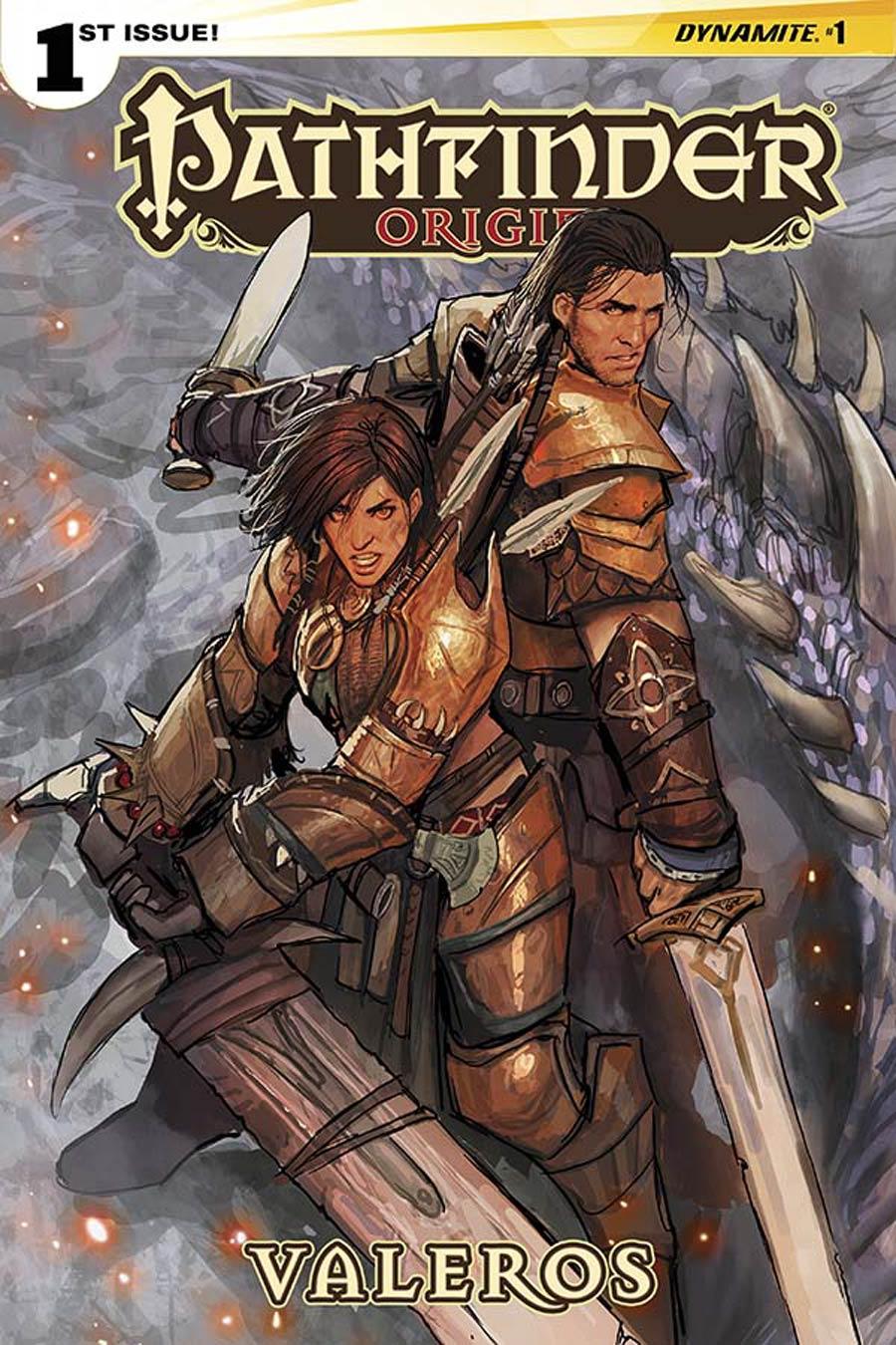 Pathfinder Origins #1 Cover A Regular Stjepan Sejic Cover