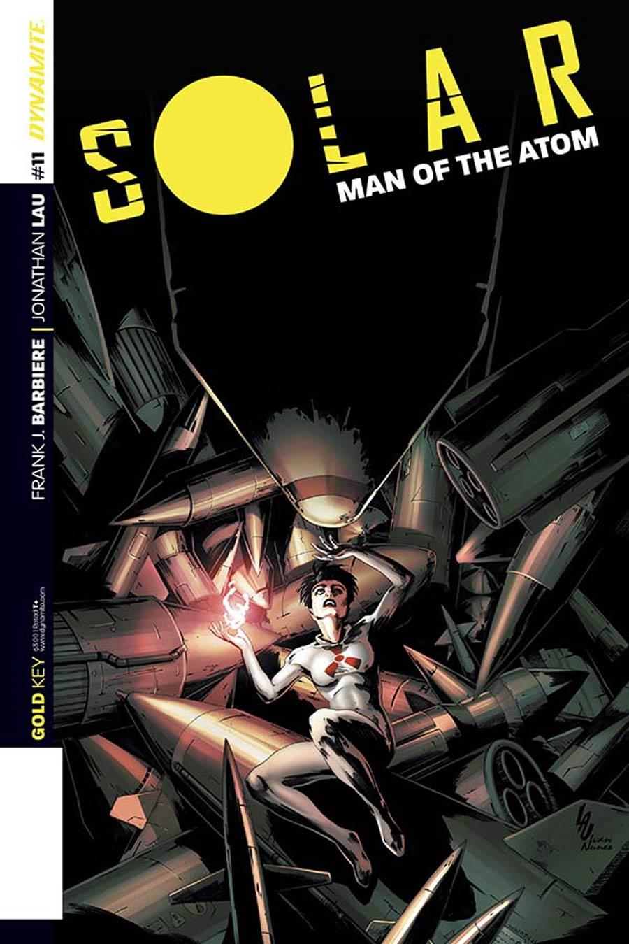 Solar Man Of The Atom Vol 2 #11 Cover B Variant Jonathan Lau Subscription Cover
