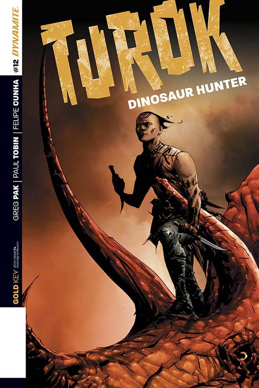 Turok Dinosaur Hunter Vol 2 #12 Cover B Variant Jae Lee Subscription Cover