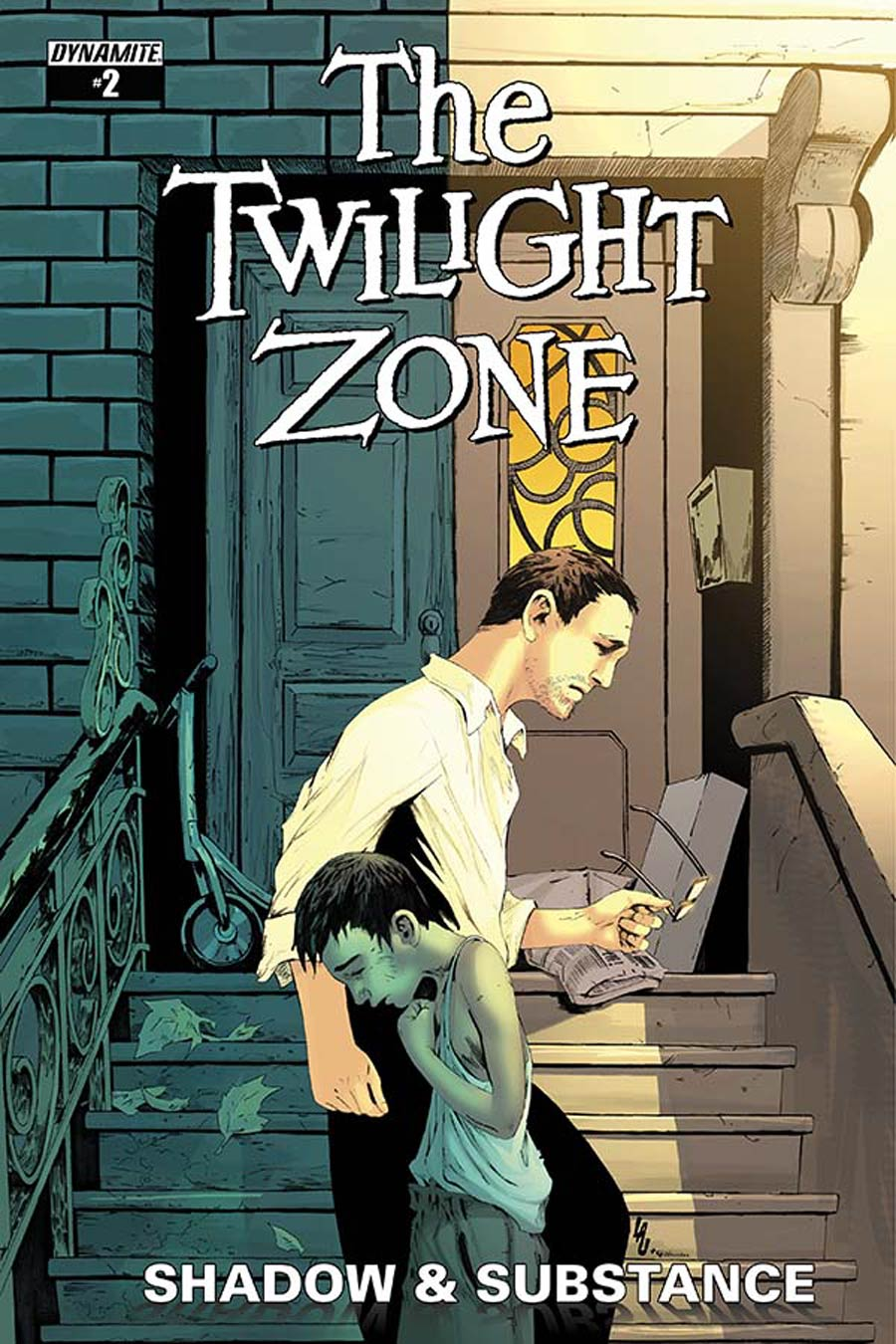 Twilight Zone Shadow & Substance #2 Cover C Variant Jonathan Lau Subscription Cover