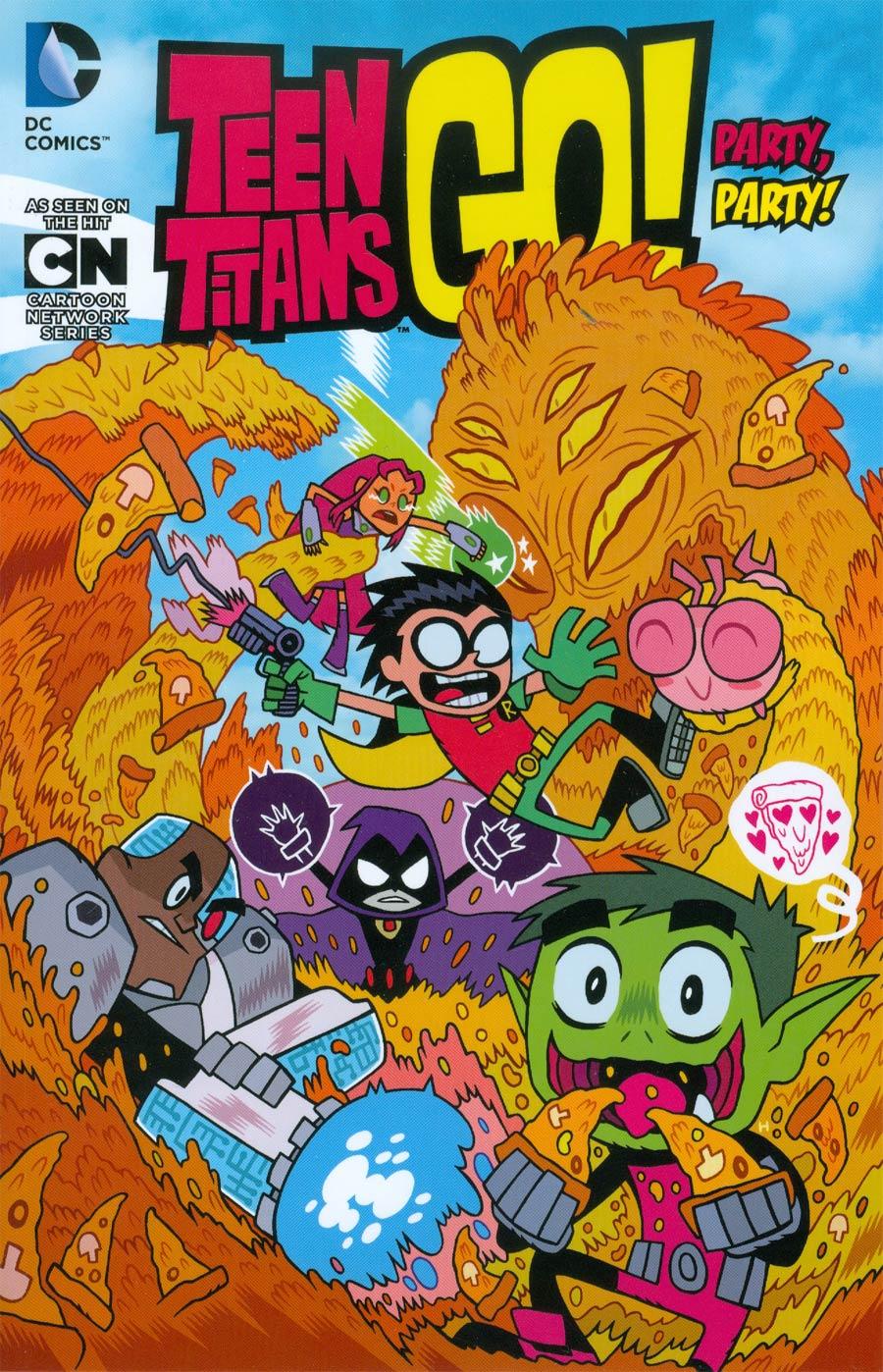 Teen Titans Go Vol 1 Party Party TP