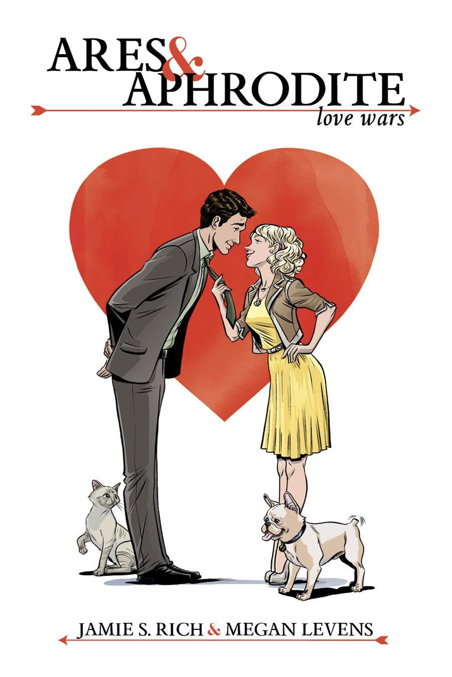 Ares & Aphrodite Love Wars GN