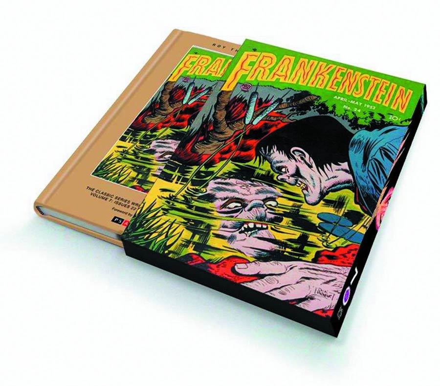 Roy Thomas Presents Dick Briefers Frankenstein Vol 7 1952-1953 HC Slipcase Edition