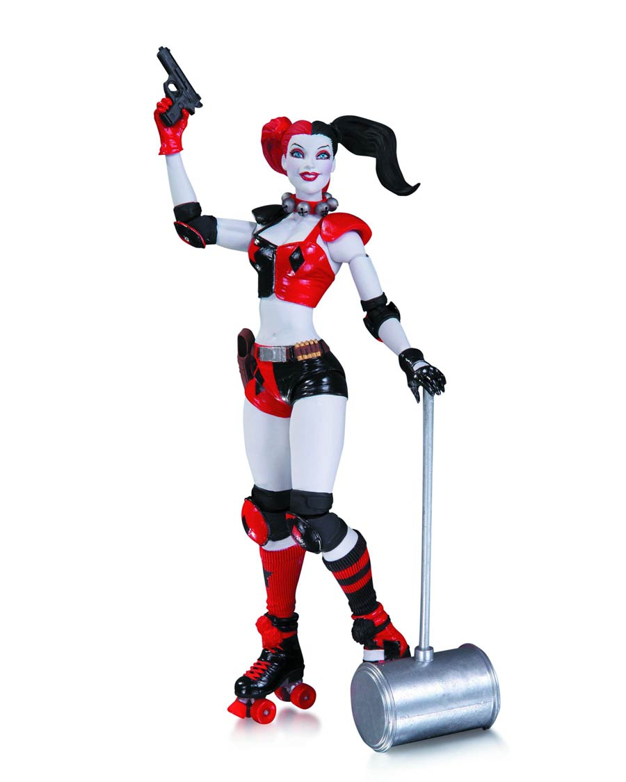 DC Comics The New 52 Harley Quinn Action Figure