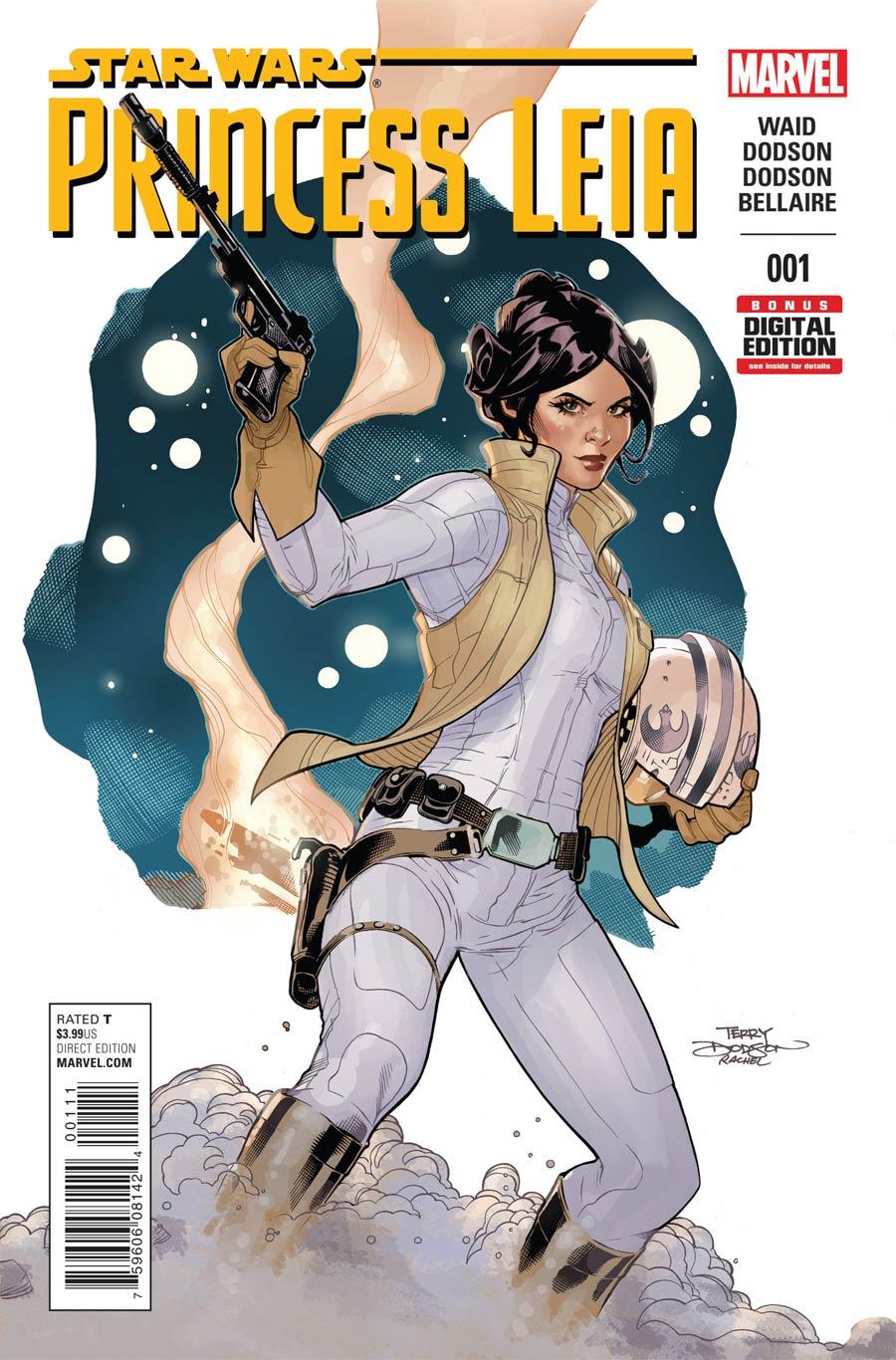 Princess Leia #1 Cover A 1st Ptg Regular Terry Dodson Cover