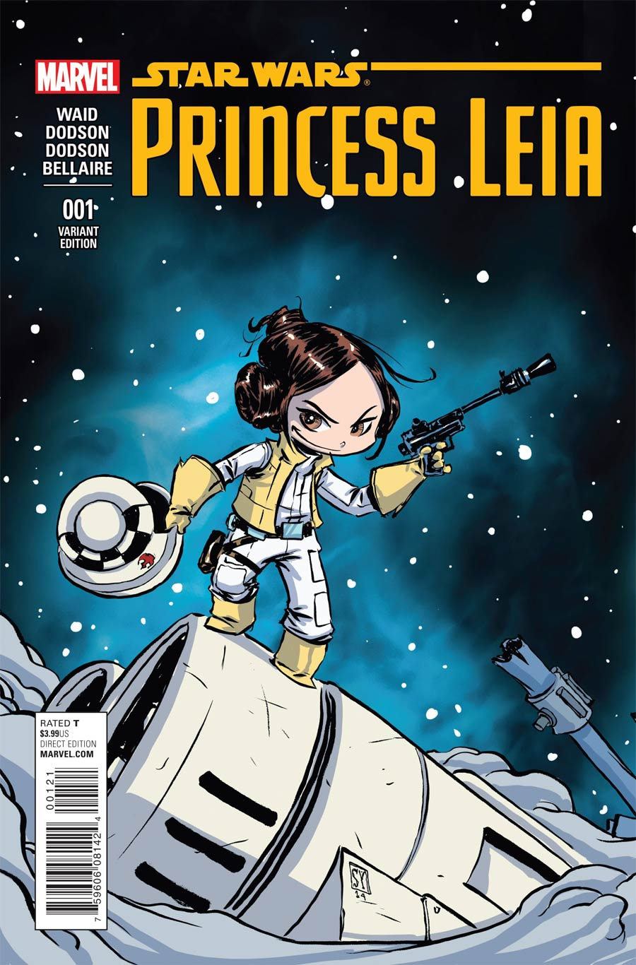 Princess Leia #1 Cover F Connecting Variant Skottie Young Baby Cover (Part 3 of 3)