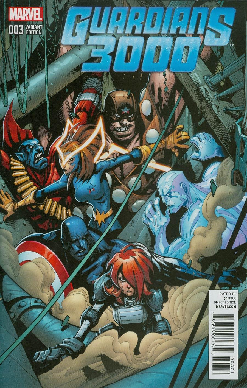 Guardians 3000 #3 Cover B Incentive Gerardo Sandoval Variant Cover