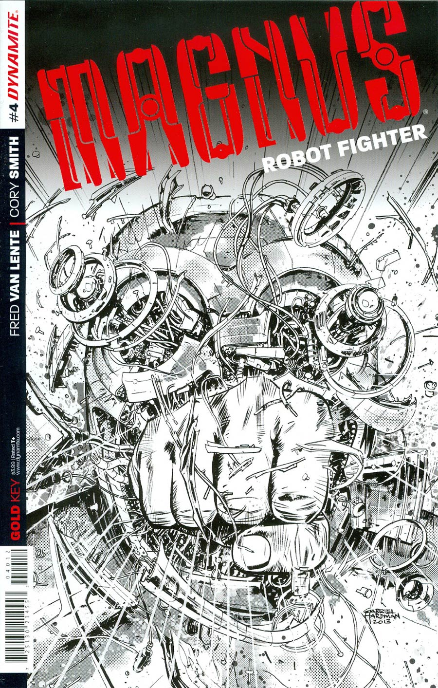 Magnus Robot Fighter Vol 4 #4 Cover F 2nd Ptg Gabriel Hardman Variant Cover