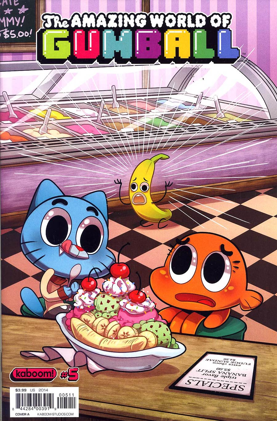 Amazing World Of Gumball #5 Cover A Regular Missy Pena Cover