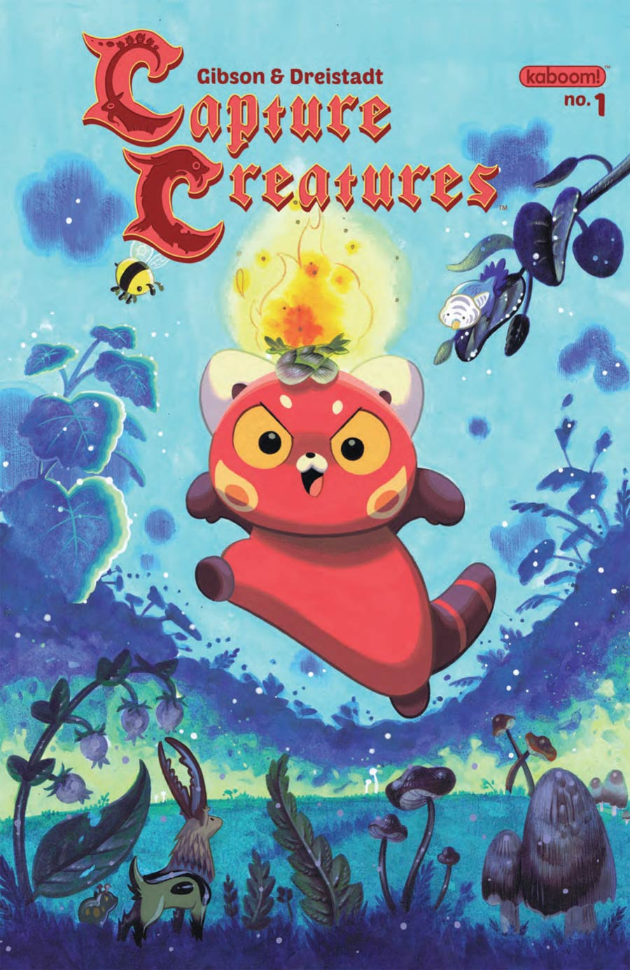 Capture Creatures #1 Cover A 1st Ptg Regular Becky Dreistadt Cover