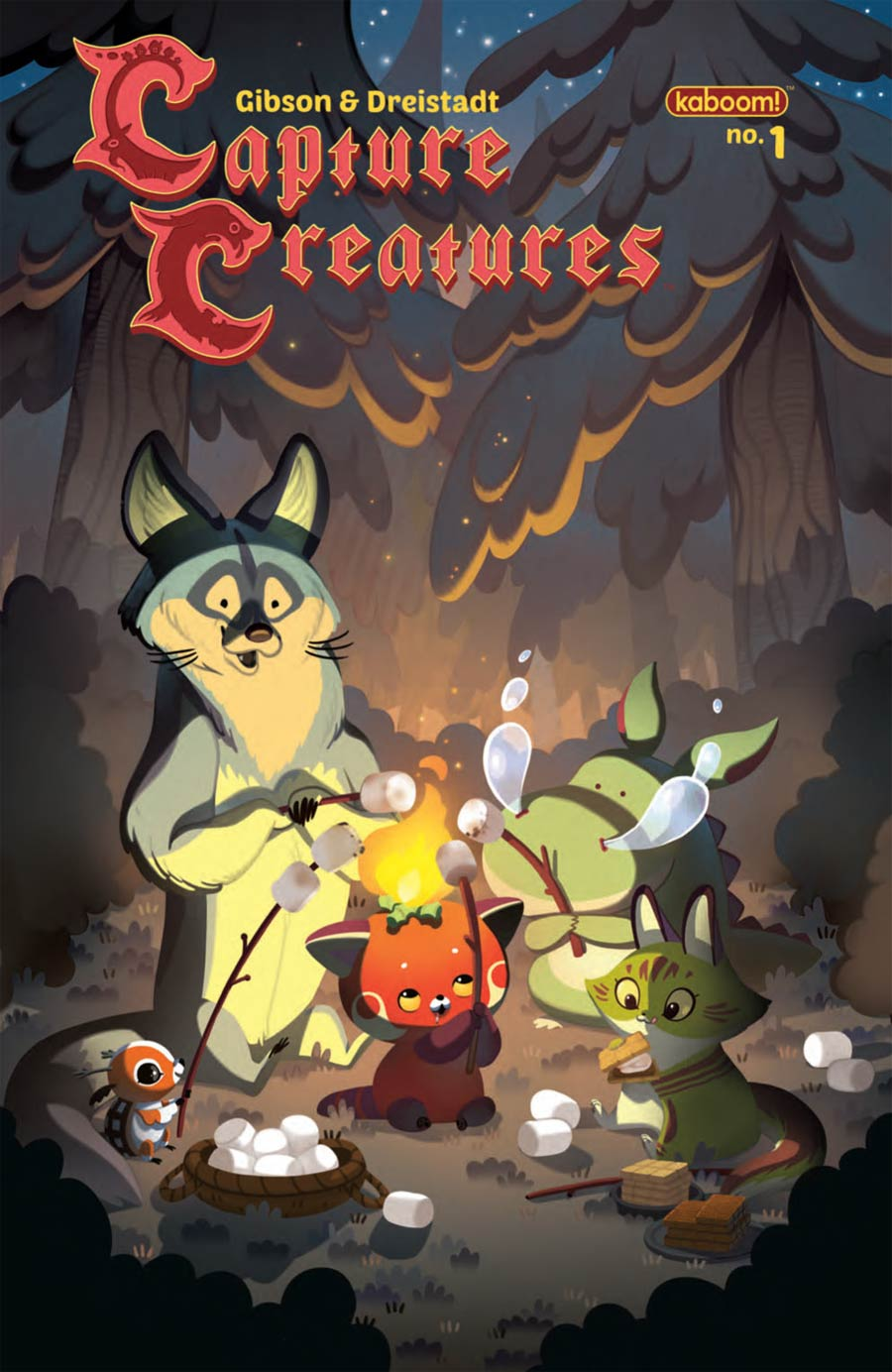 Capture Creatures #1 Cover B 1st Ptg Regular Joy Ang Cover