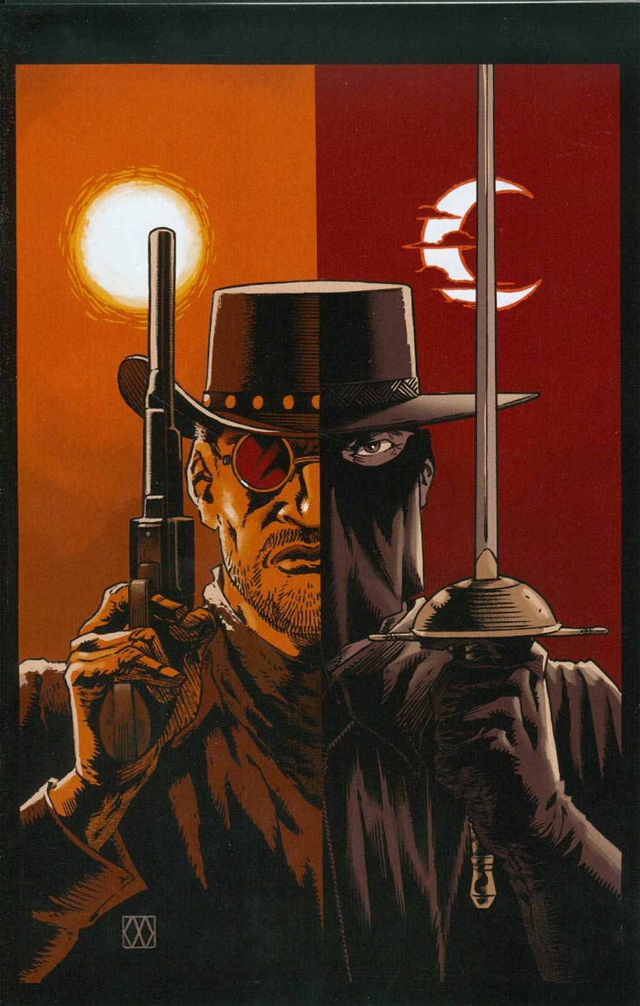 Django Zorro #1 Cover H Incentive Rare Matt Wagner Virgin Cover