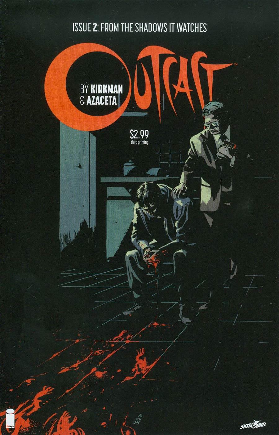 Outcast By Kirkman & Azaceta #2 Cover C 3rd Ptg