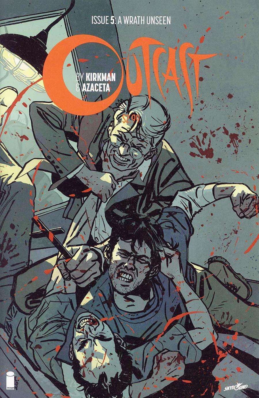 Outcast By Kirkman & Azaceta #5 Cover B 2nd Ptg