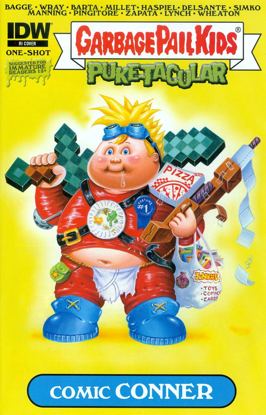Garbage Pail Kids Comic Book Puke-Tacular #1 Cover C Incentive Joe Simko Variant Cover