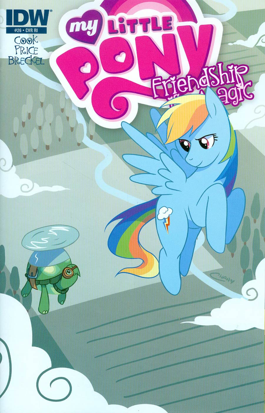 My Little Pony Friendship Is Magic #26 Cover C Incentive Chan Chau Variant Cover