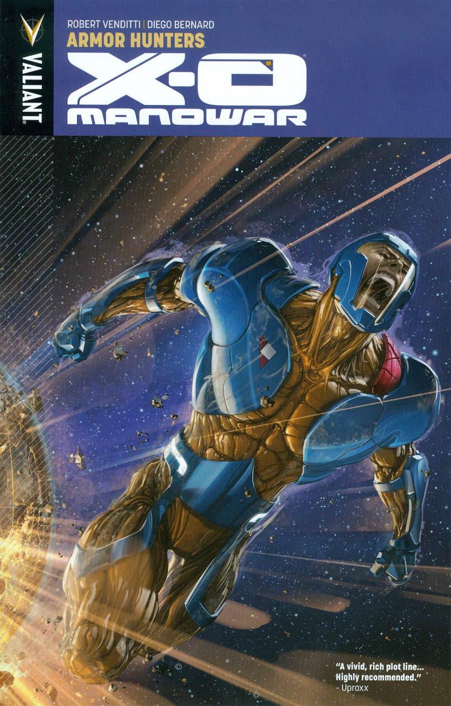 X-O Manowar Vol 7 Armor Hunters TP