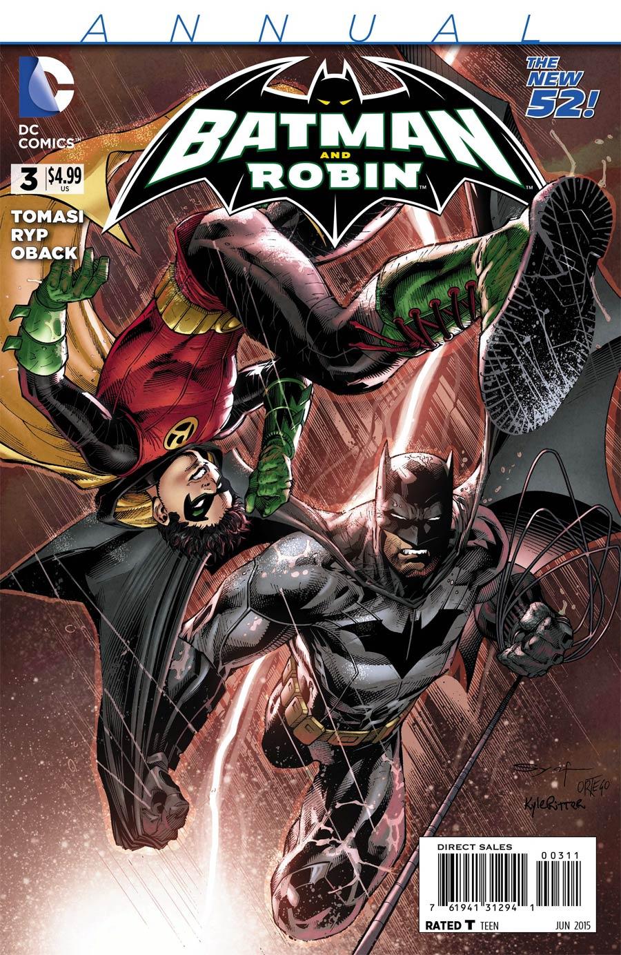 Batman And Robin Vol 2 Annual #3