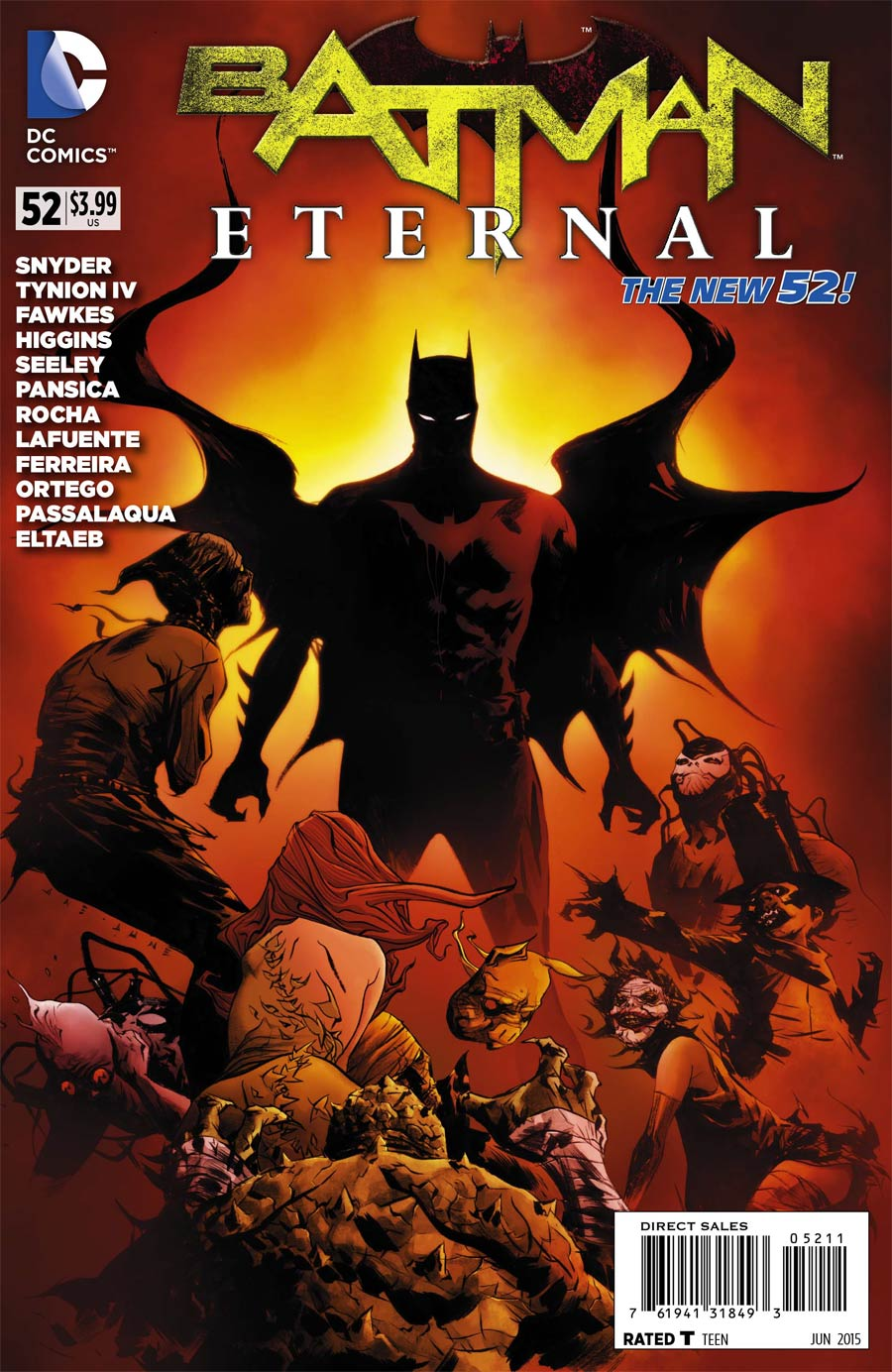 Batman Eternal #52 Cover A Regular Jason Fabok Cover