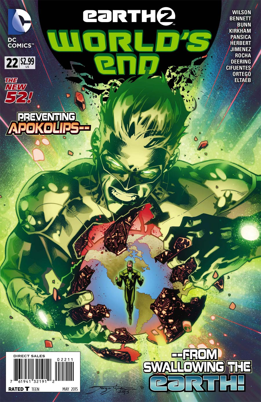 Earth 2 Worlds End #22