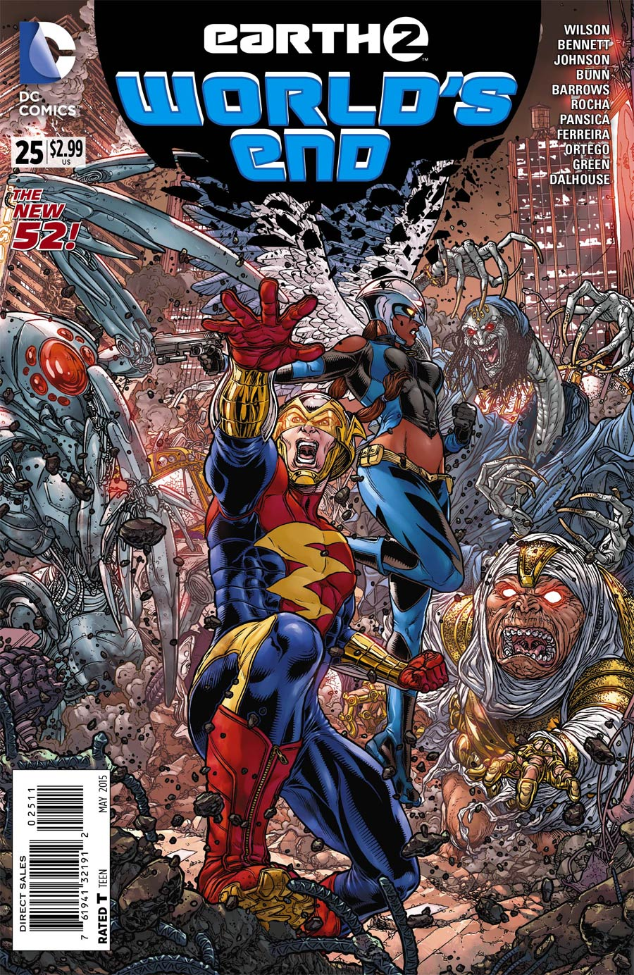 Earth 2 Worlds End #25