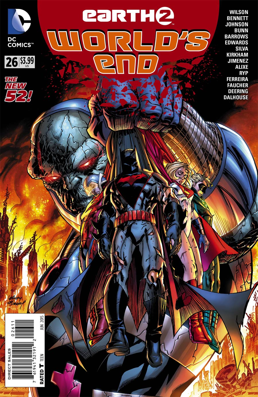 Earth 2 Worlds End #26 Cover A Regular Andy Kubert Cover