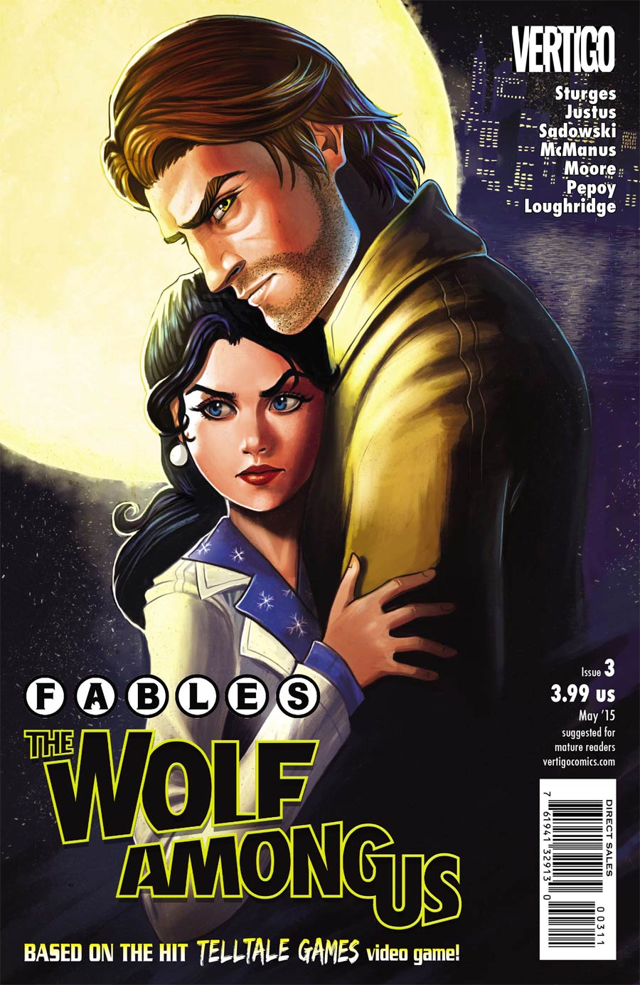 Fables The Wolf Among Us #3