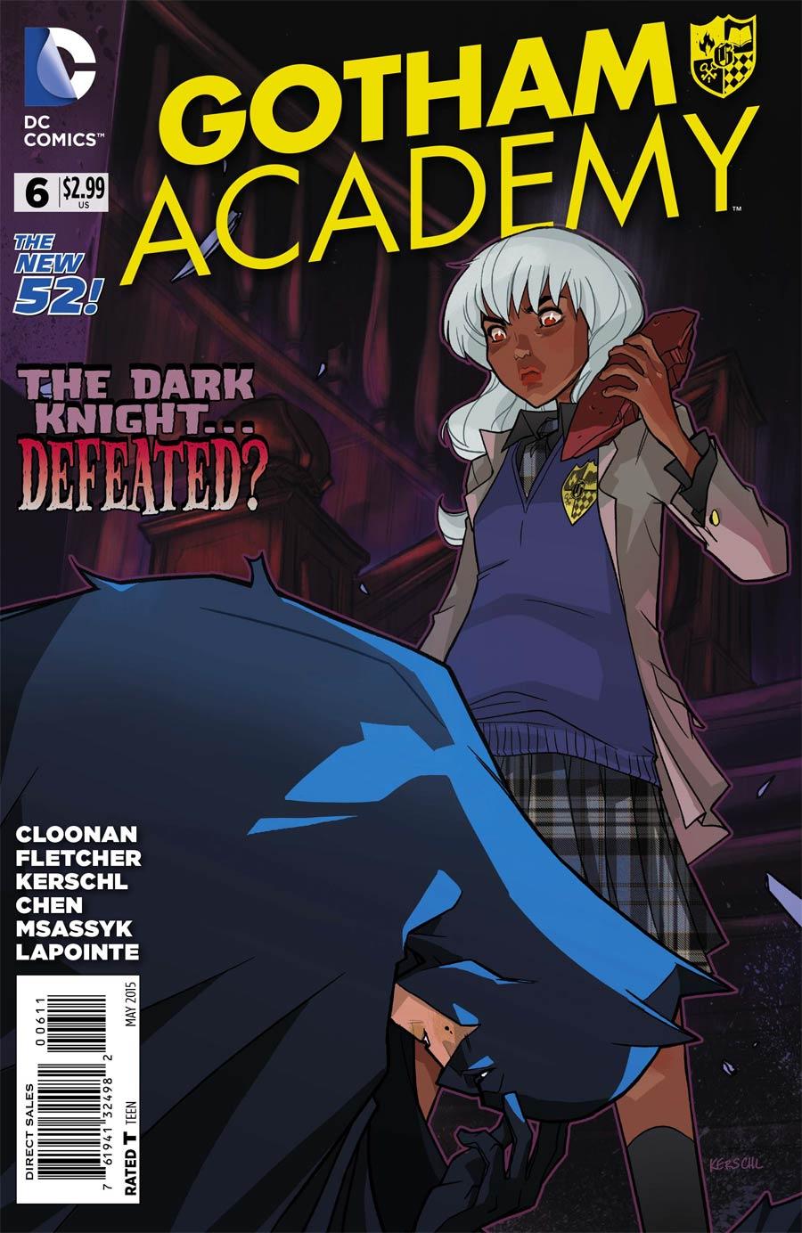 Gotham Academy #6 Cover A Regular Karl Kerschl Cover