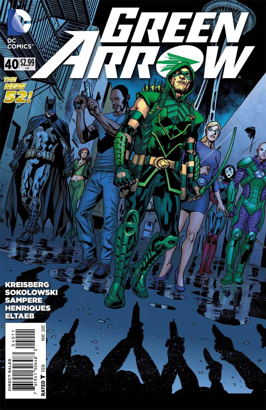 Green Arrow Vol 6 #40