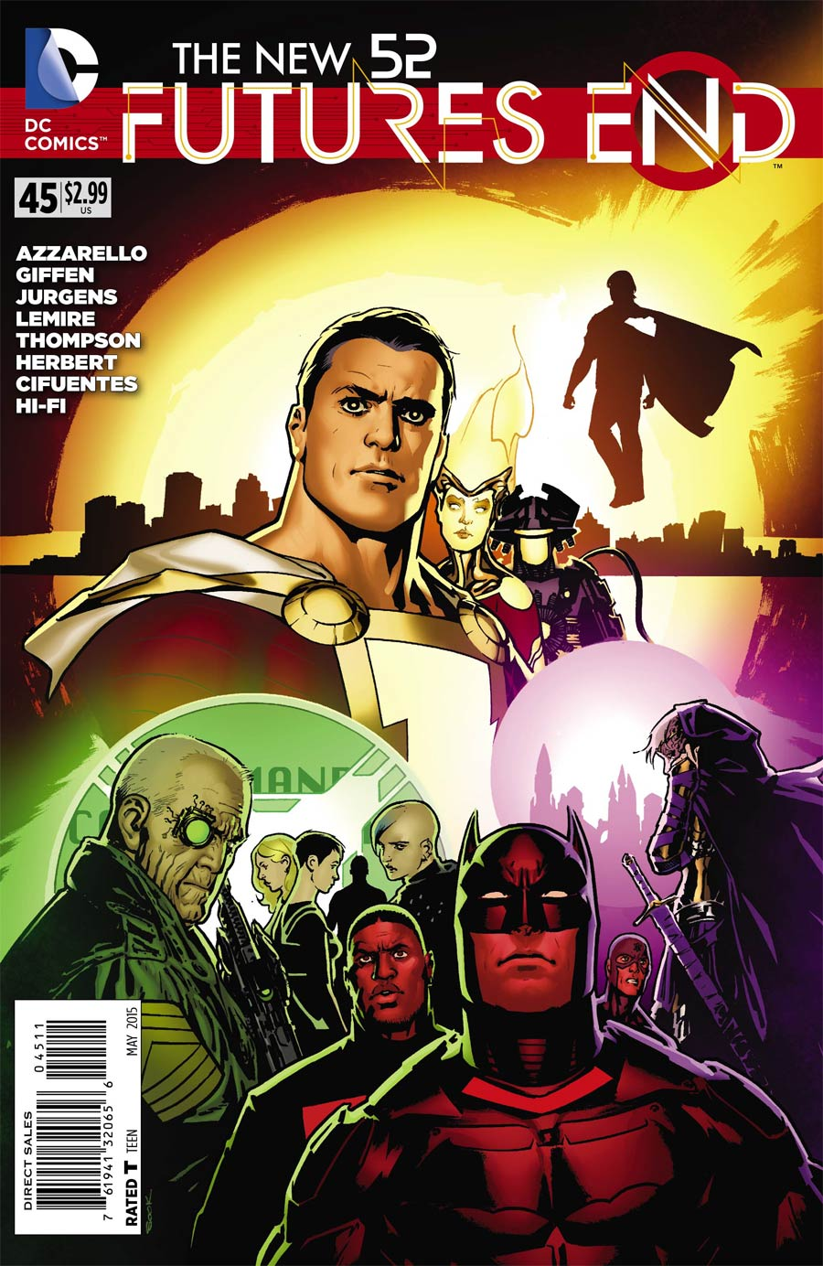 New 52 Futures End #45