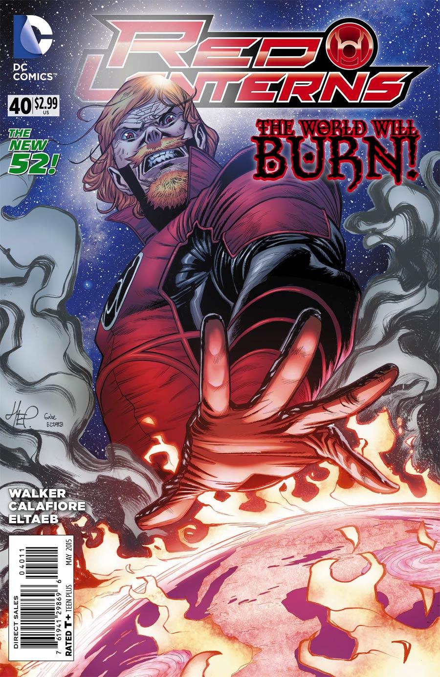 Red Lanterns #40