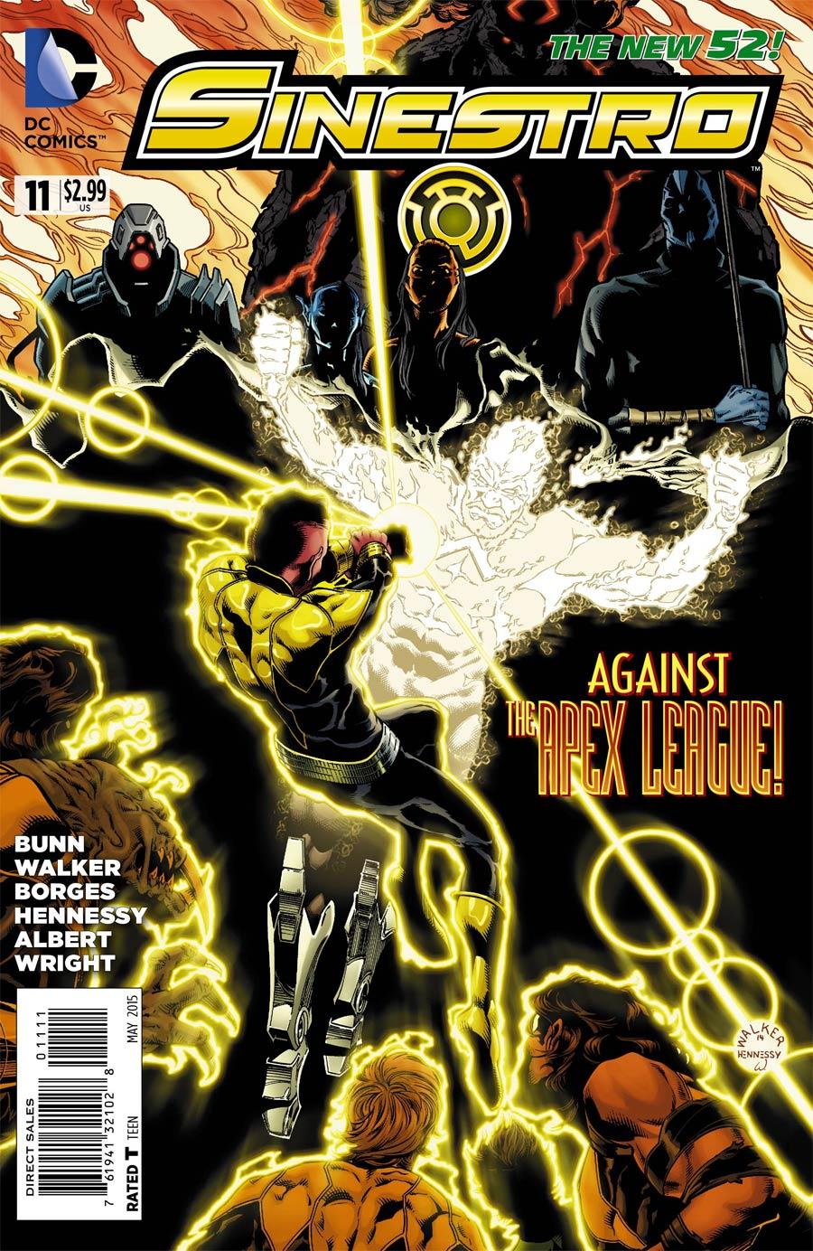 Sinestro #11 Cover A Regular Brad Walker Cover