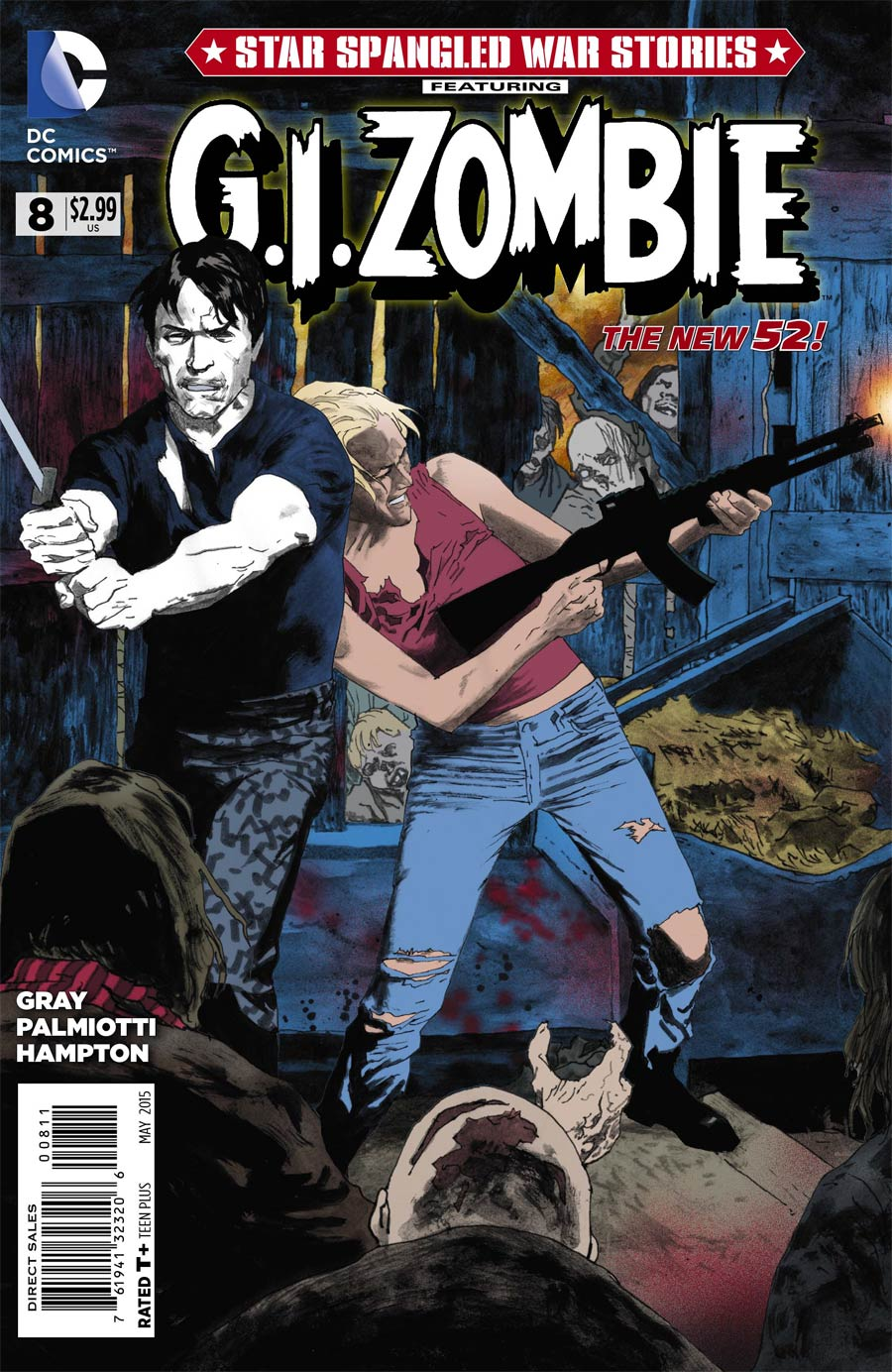Star-Spangled War Stories Featuring GI Zombie #8