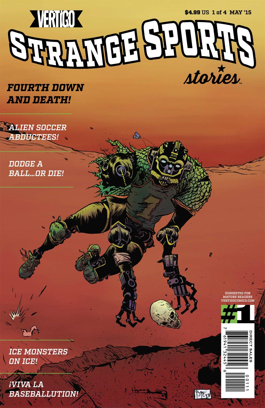 Strange Sports Stories Vol 2 #1 Cover A Regular Paul Pope Cover