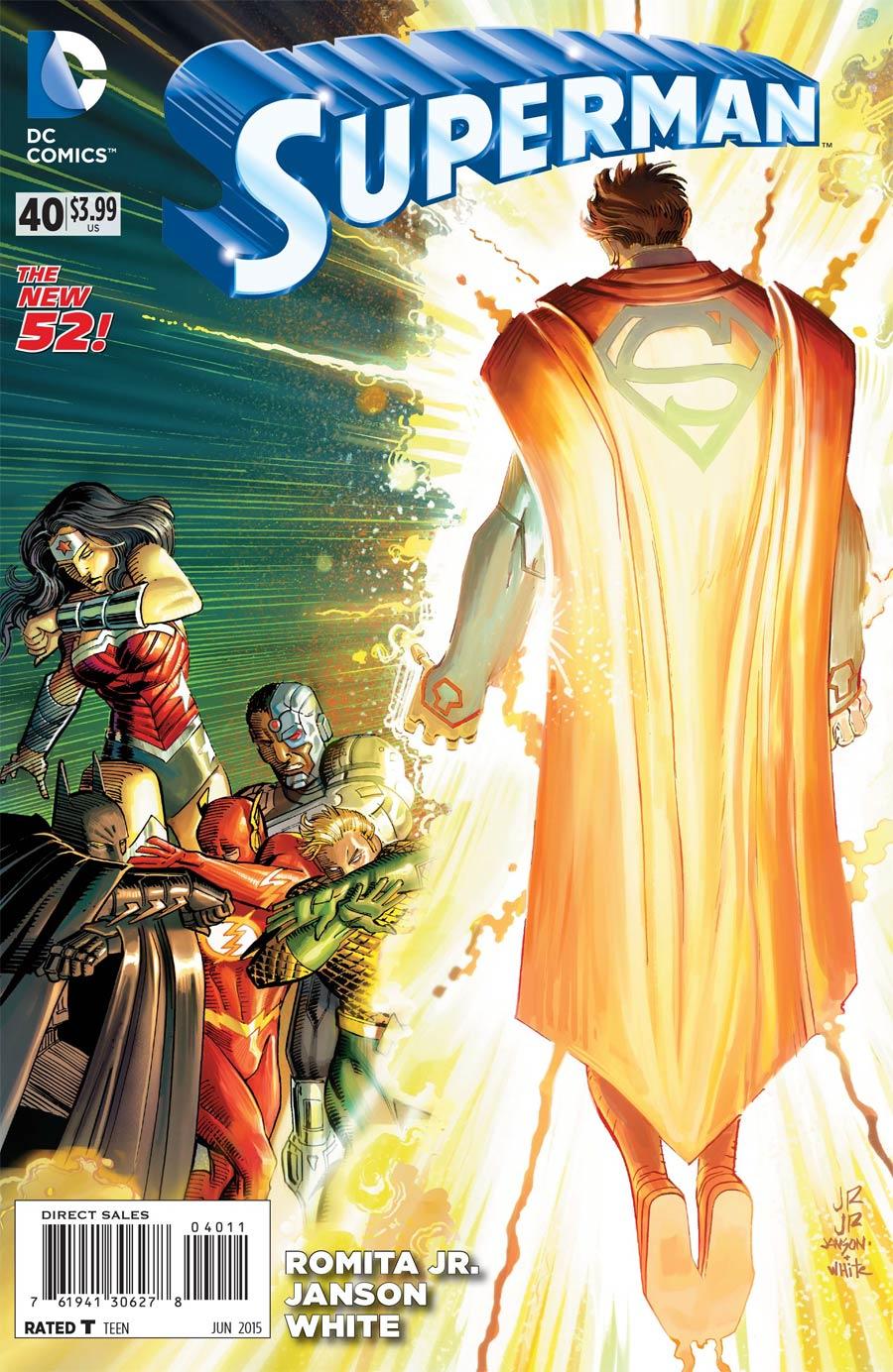 Superman Vol 4 #40 Cover A Regular John Romita Jr Cover