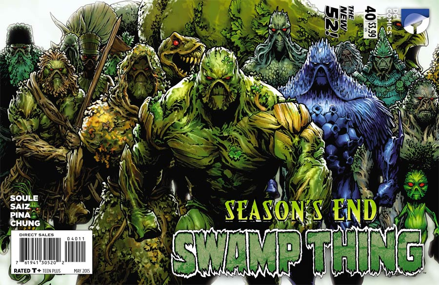 Swamp Thing Vol 5 #40