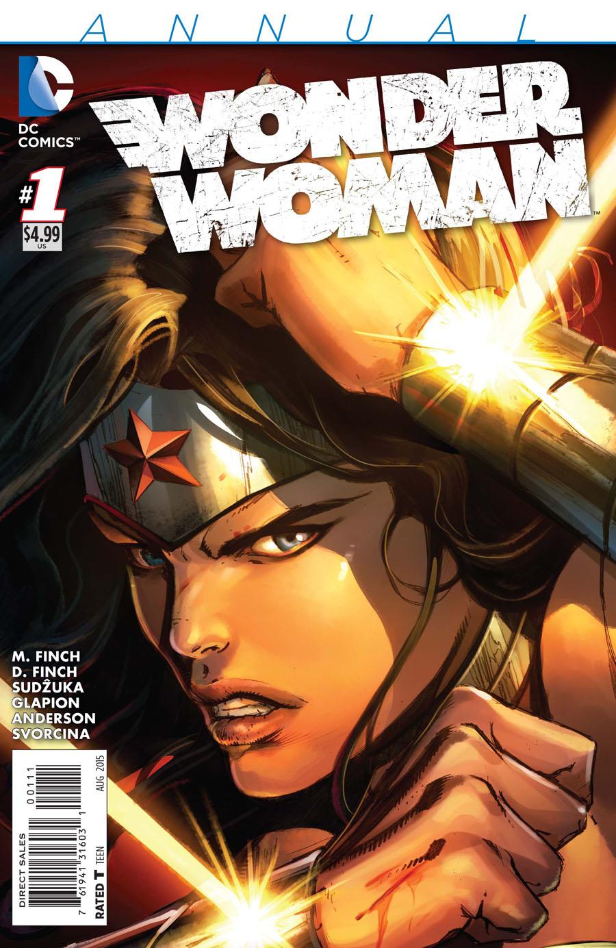 Wonder Woman Vol 4 Annual #1