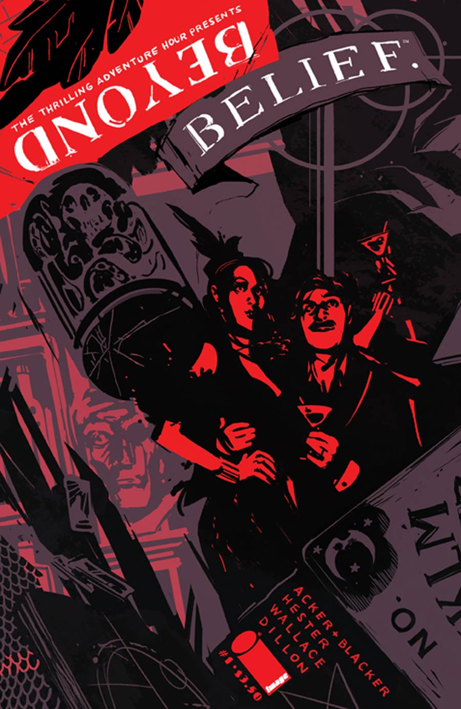 Thrilling Adventure Hour Presents Beyond Belief #1 Cover B Annie Wu